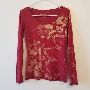 Lucky Brand long sleeve cotton tee